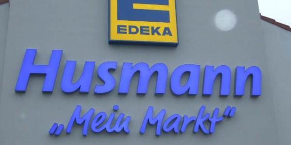 Strahlende Buchstaben für den EDEKA von Grünewald-Werbung