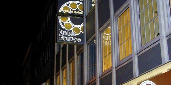 Transparente in verschiedenen Größen gefertigt von Grünewald-Werbung.