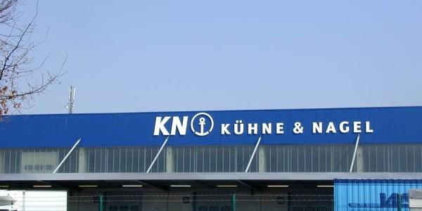 Großes Buchstaben für Kühne & Nagel von Grünewald-Werbung