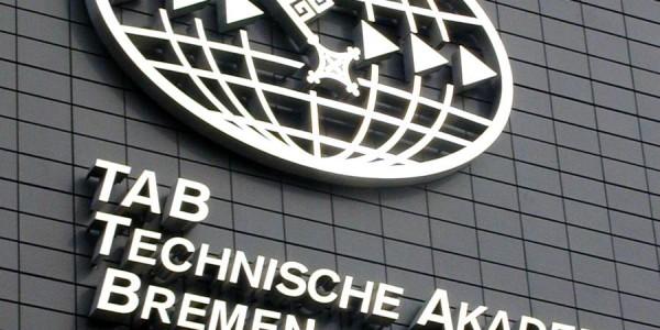 3D Buchstaben für die Technische Akademie Bremen