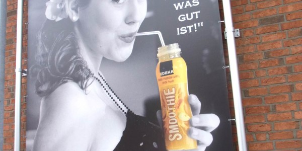 Werbespanntuch in Bremen