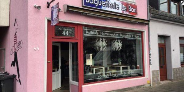 Neue Webemittel bei Baguetterie Le Bon in Bremen