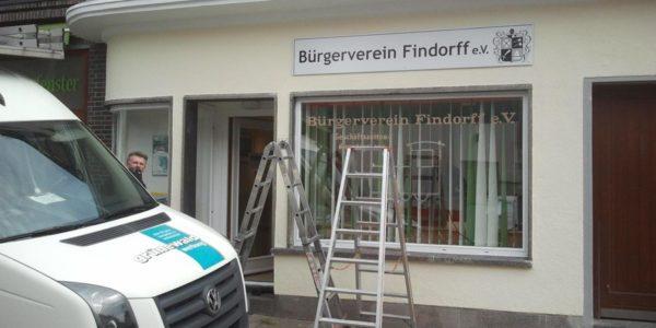 Bürgerverein Findorff e.V. neues Schild